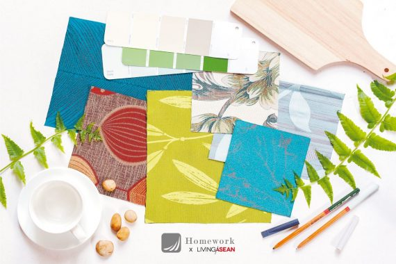 Fabrics with Style; Warm, Relaxing Tropical Elegance