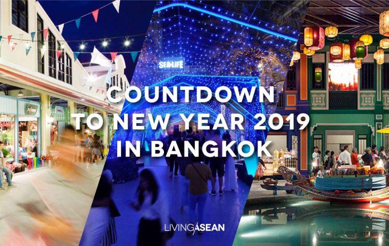 Countdown to New Year 2019 in Bangkok