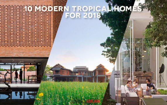 10 Modern Tropical Homes for Inspiration