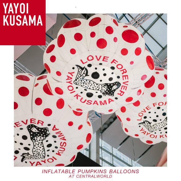 Inflatable Pumpkins Balloons / Yayoi Kusama