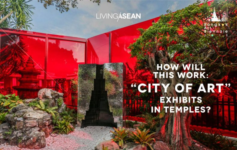 """How Will This Work: """"City of Art"""" Exhibits in Temples?"""