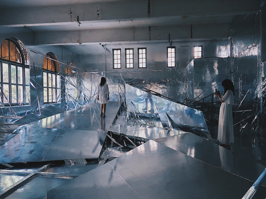 Diluvium, by Lee Bul
