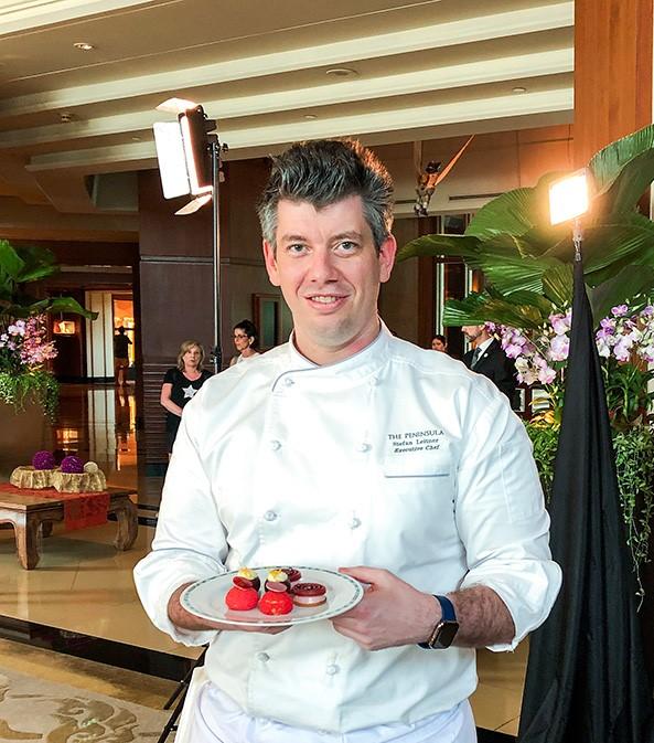 Executive Chef Stefan Leitner, the face of leadership at the Peninsula Bangkok. | Photo: Singhanart Nakpongphun