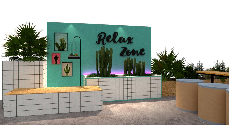 The Relax Zone at 2019 Baanlaesuan Fair Select