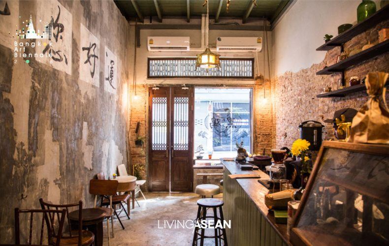 3 Well-designed Cafés in the Charoen Krung/Khlong San Riverside Zone for Relaxation After Viewing Fine Art at BAB 2018