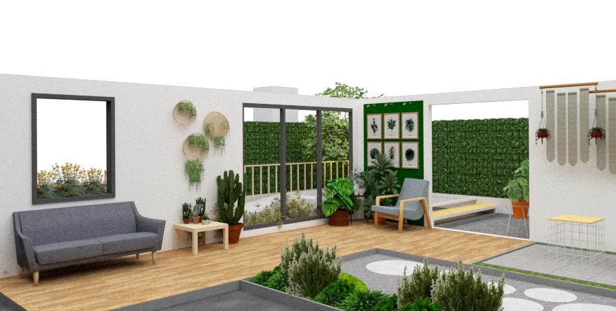 Small garden ideas at 2019 Baanlaesuan Fair Select