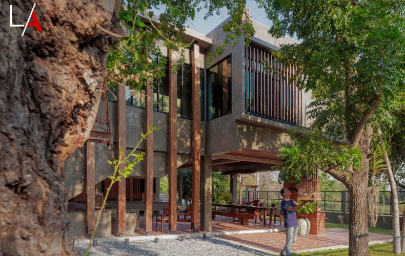 From Old Home to Stunning House on Stilts
