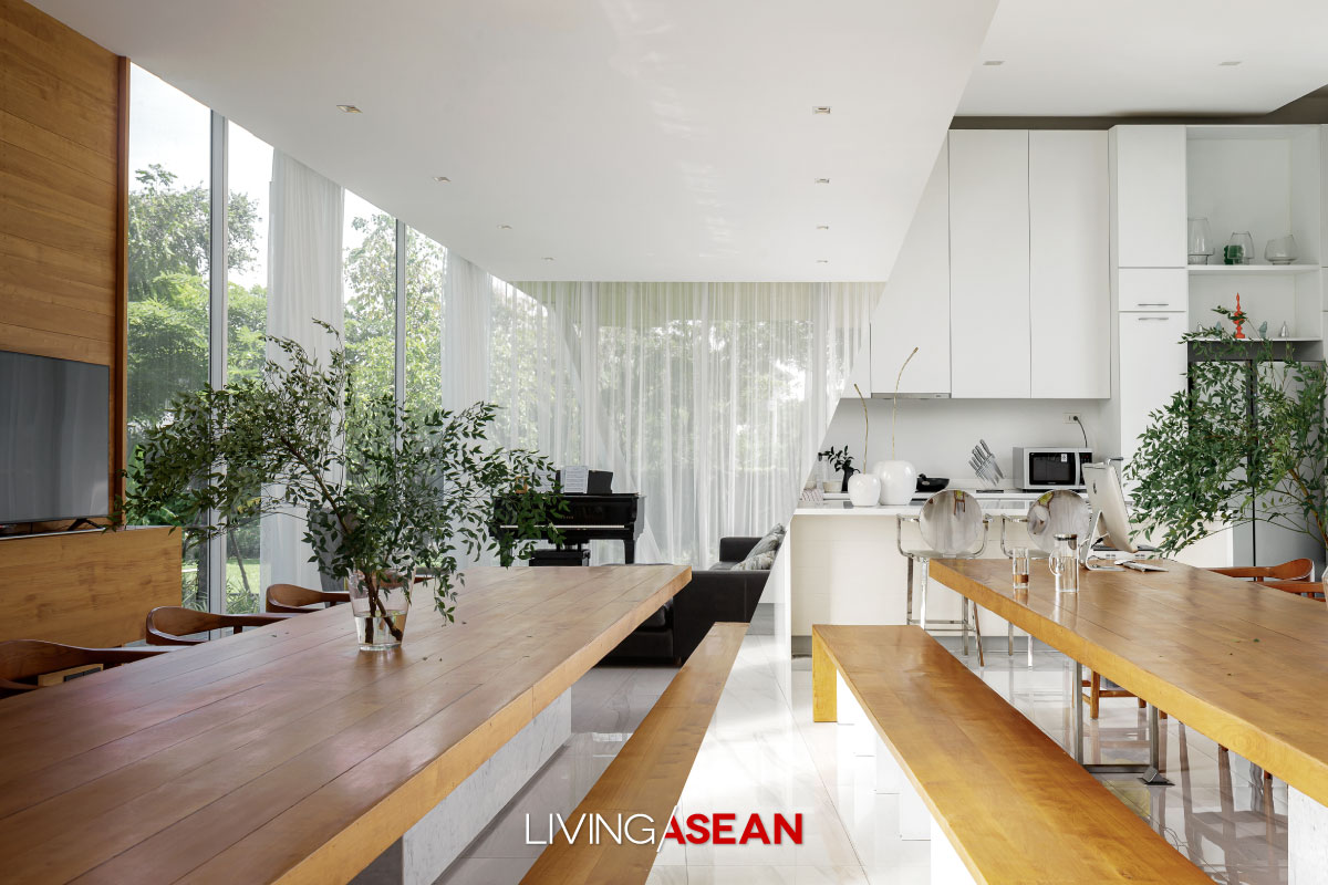 EAST Architect Modern Thai House Dining room
