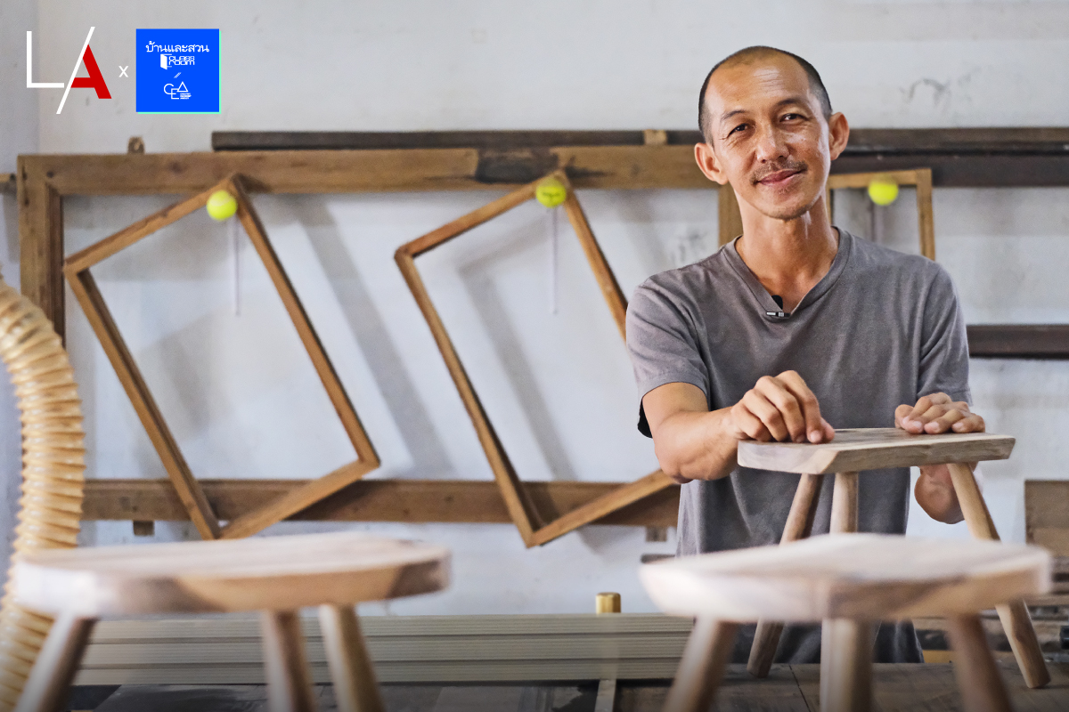 Phisanu Numsiriyothin / BaanLaeSuan Classroom / A Passion for Woodworking / Getting Started in Woodworking / master woodworker / professional carpenter