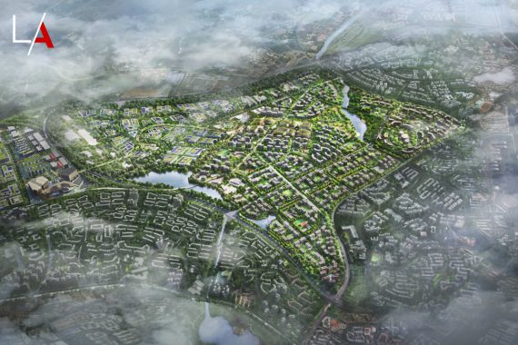 Singapore's Largest Forest Town in the Making