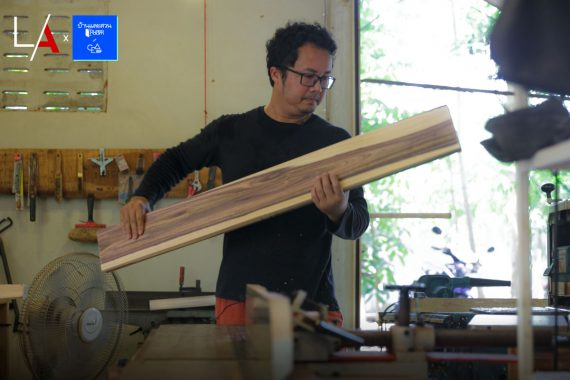 Suppapong Sonsang; A Furniture Designer Who Grows Forests to Fulfill His Timber Needs